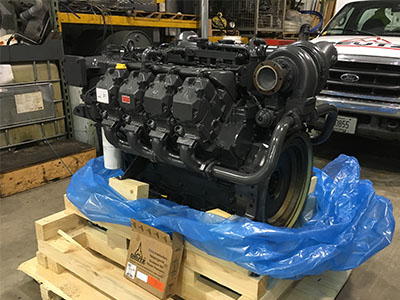Deutz 2015 Reman Engine to be install in machine
